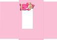 Jolly the Clown Gatefold Envelope - Pink