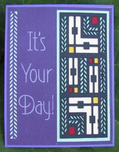 It's Your Day Card Topper - Designer Edition Ready
