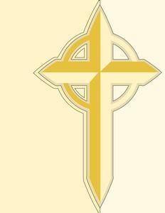 Sympathy Celtic Cross Card - Studio Ready