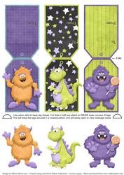 Monster Medley - Gift Tag Cards