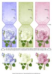Vintage Roses - Gift Tag Cards