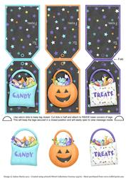 Halloween Treats - Gift Tag Cards