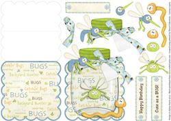 Buggin' Out - Scalloped Easel Card
