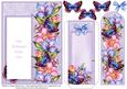 Floral Butterfly Dreams - Bookmark Pocket Card