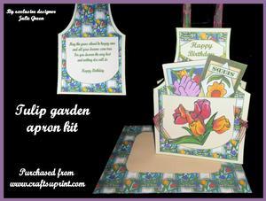 Tulip Garden Apron Kit