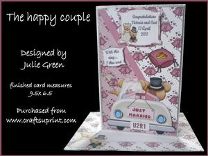 The Happy Couple Larger Card