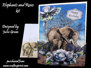 Elephants and Roses Kit