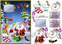 Santa Celebrates