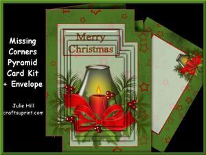 Missing Corners Christmas Candle Pyramid Kit