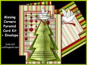 Missing Corners Dove Christmas Tree Pyramid Kit