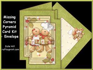 Missing Corners Christmas Gingerbread Pyramid Kit