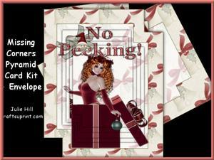 Missing Corners Christmas No Peeking Pyramid Kit