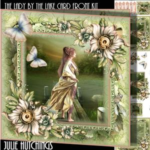 The Lady by the Lake Card Front Kit