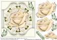 The Milky Rose Card Topper