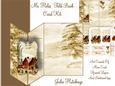 No Holes Fold Vintage Christmas Home Mini Kit