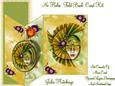Golden Green Masque No Holes Fold Mini Kit