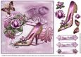 Sophisticated Lady Shoes Card Topper