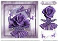The Purple Rose in a Shimmering Frame