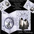 No Holes Fold Penguin Family