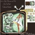 Marilyn Style on the Television Shaped Card Kit