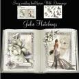 Beautiful Ivory Wedding Book Style Topper