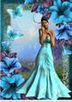 A4 Petunia Blue Beauty