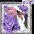 Gorgeous Pure Elegance Card Front Kit