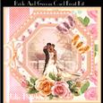 The Bride and Groom Card Front Kit