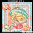 Izzy Cutie Pie Card Front Kit