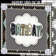 Birthday Card Front Kit
