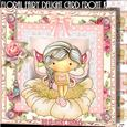 Floral Fairy Delight Card Front Kit