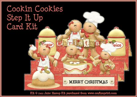 Cookin Cookies Step It Up Card Kit