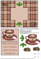 Snowman Soup Swing Card