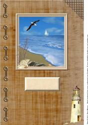 Dreaming of the Sea Large Card Front