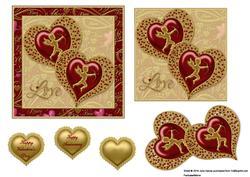 Jewelled Hearts 2