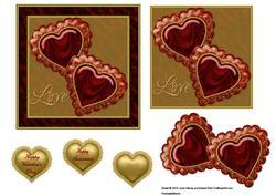 Jewelled Hearts 3