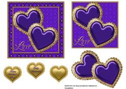 Jewelled Hearts 4