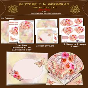 Butterfly & Gerberas