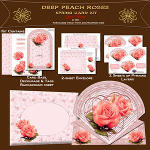 Deep Peach Roses