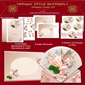 Tiffany Style Butterfly