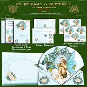 Celtic Fairy & Butterfly