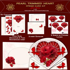 Pearls & Heart Valentine