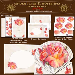Single Rose Bloom
