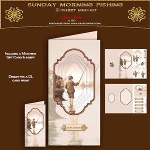 Dl Card - Sunday Morning Fishing