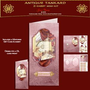 Dl Card - Antique Tankard