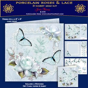Porcelain Roses & Lace