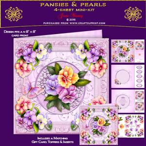 Pansies & Pearls