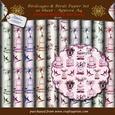 Birds & Cages on Parchment Paper Set