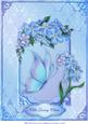 Forget-me-nots in Blue A4 Card Front