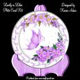 Lovely in Lilac Plate Card Kit